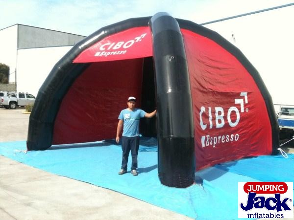 Inflatables house cibo