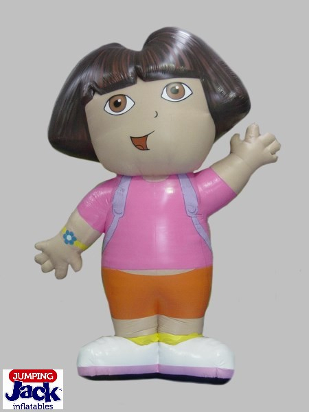 inflatables dora doll