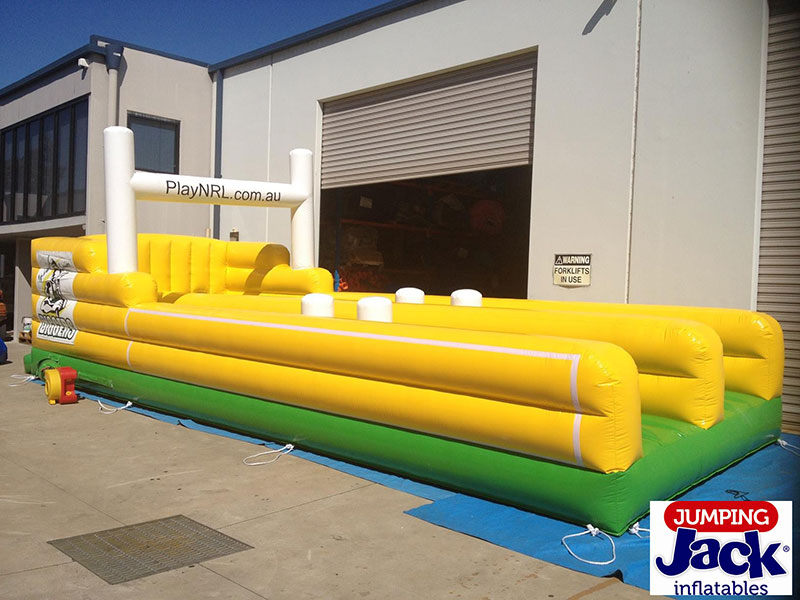 nrl inflatable castle