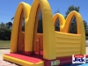 mcdonalds inflatable bouncer