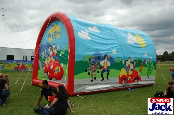 wiggles rear inflatables