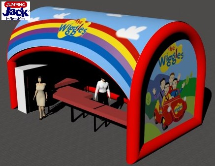 wiggles tent