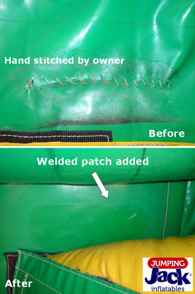 Jumping Castle Patch Repair