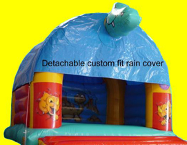 jumping castle rain cover