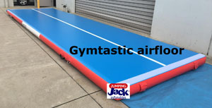 Gymtastic Airfloor - Jumping Jacks Inflatables - inflatable gymnastic mats